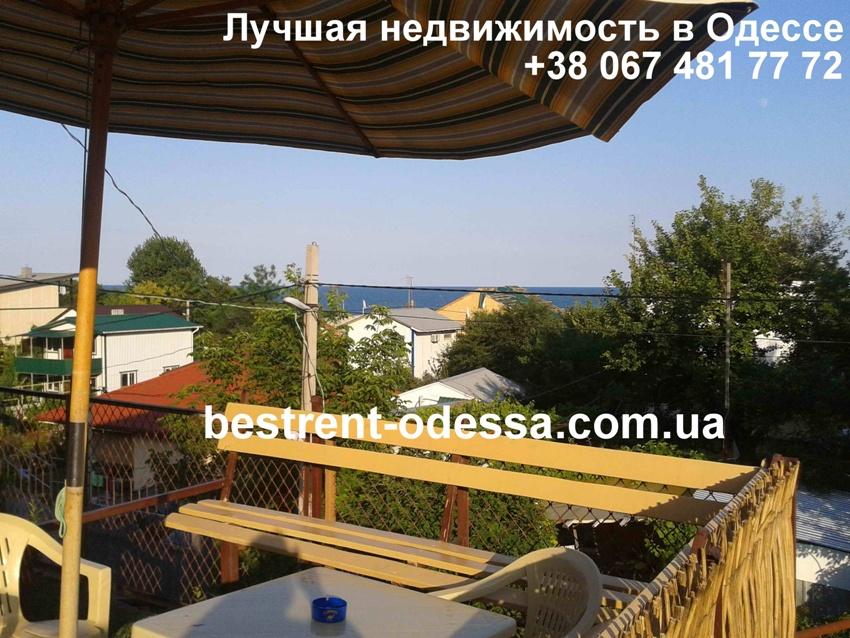 Дача Ковалевского, коттедж на берегу моря (№207)