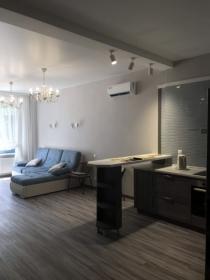 жк Санторини, односпальная квартира в доме у моря(№1-402)