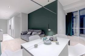 Гагарин плаза, видовая односпальная квартира(№1-629)