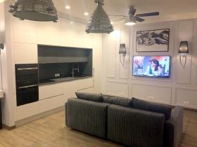 Санторини, квартира в новом доме у моря, 10 Фонтана(№2-817)