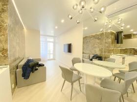 новая видовая 4х ком квартира в жк 44 Жемчужна-(№4-328)