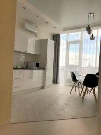 новая односпальная квартира в жк 19 Жемчужина(№2-684)