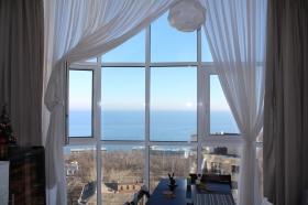 Мерседес, 3х ком квартира с видом на море(№3-734)