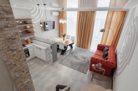новый, стильный дом в районе 16 Фонтана, Золотой Берег(№200)