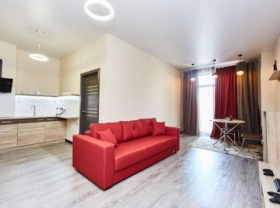 односпальная квартира в доме у моря, Санторини(№1-706)