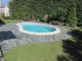 11 Фонтана, дом с бассейном для семьи(№257)