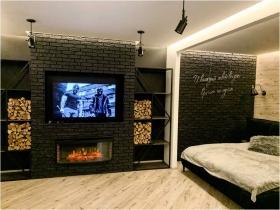 стильная квартира в стиле ЛОФТ, 43 Жемчужина-(№1-478)