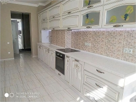 3х ком квартира в жк Париж, дом у моря-(№3-1142)