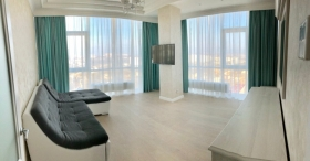 новая 3х ком квартира в жк 17 Жемчужина, центр города(№3-756)