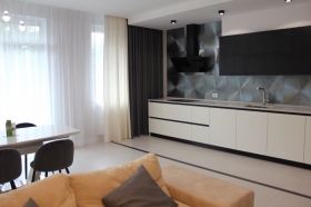 новая двуспальная квартира в жк Гринвуд(№3-794)