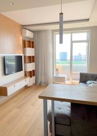 Гринвуд, видовая стильная квартира(№1-439)