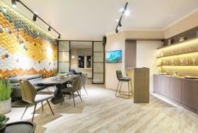 жк Гагаринский, дизайнерская двуспальная квартира(№3-268)