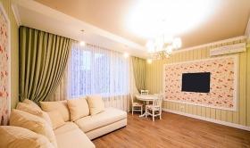 ГольфСтрим, двуспальная квартира, Аркадия(№3-362)