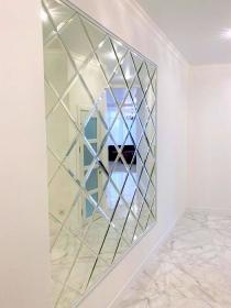 Гагарин Плаза, светлая односпальная квартира(№1-517)