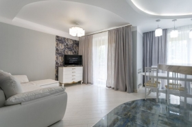 3х ком уютная квартира, Французский Бульвар(№3-750)