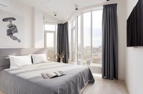 новая квартира, Гагарин плаза, одна спальня(№1-585)