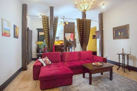 стильная квартира, Екатерининская площадь(№1-627)